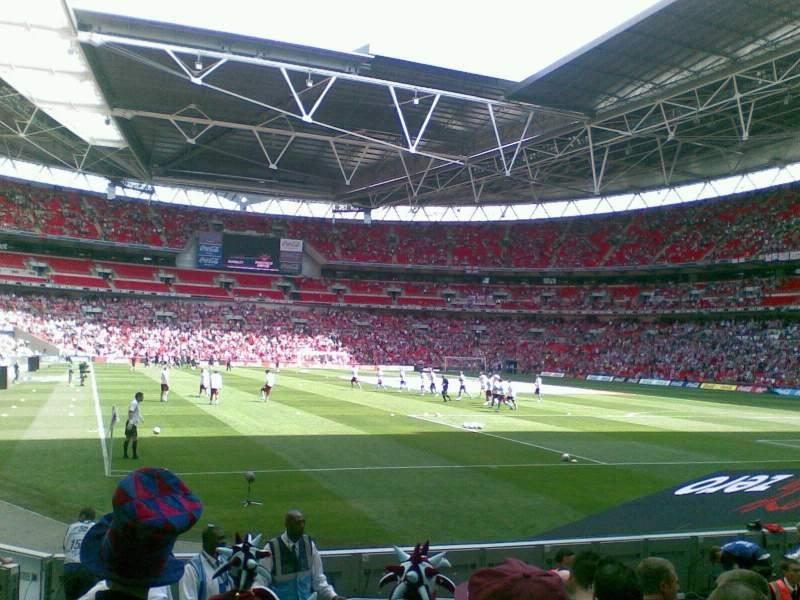 Sheffield United Iphone Wallpaper Wembley Stadium Section 137 Row 9 Seat 90 Burnley Fc
