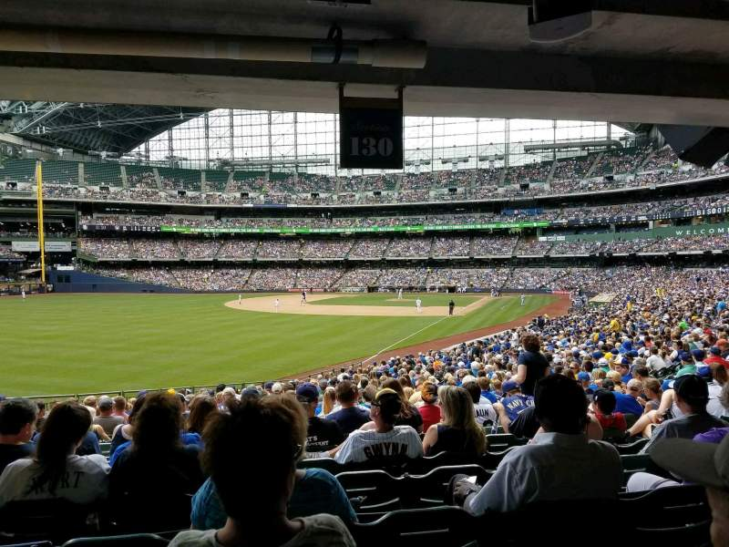 Brewers Wallpaper Iphone Miller Park Section 130 Row 29 Seat 10 Milwaukee