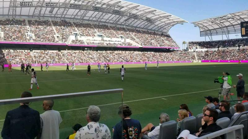 Los Angeles Iphone X Wallpaper Banc Of California Stadium Home Of Los Angeles Fc