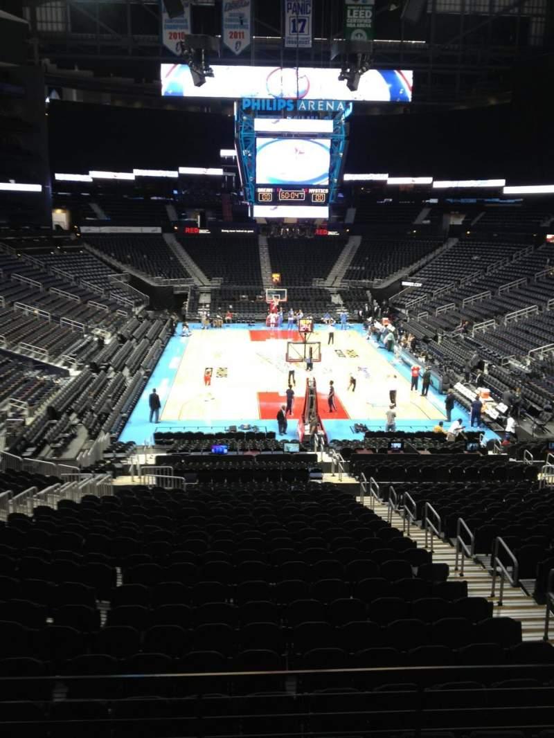 Photos of the Atlanta Dream at Philips Arena