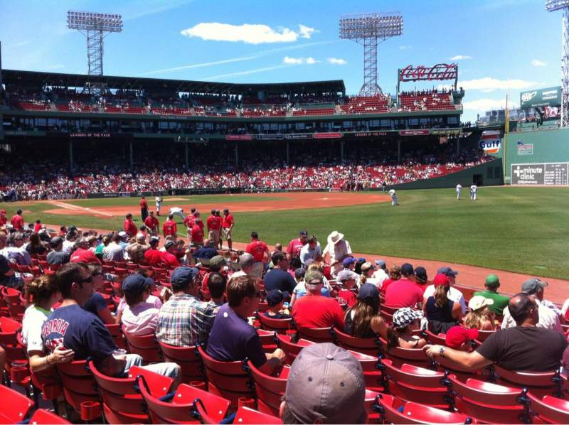 Braves Wallpaper Iphone Fenway Park Section Right Field Box 95 Home Of Boston