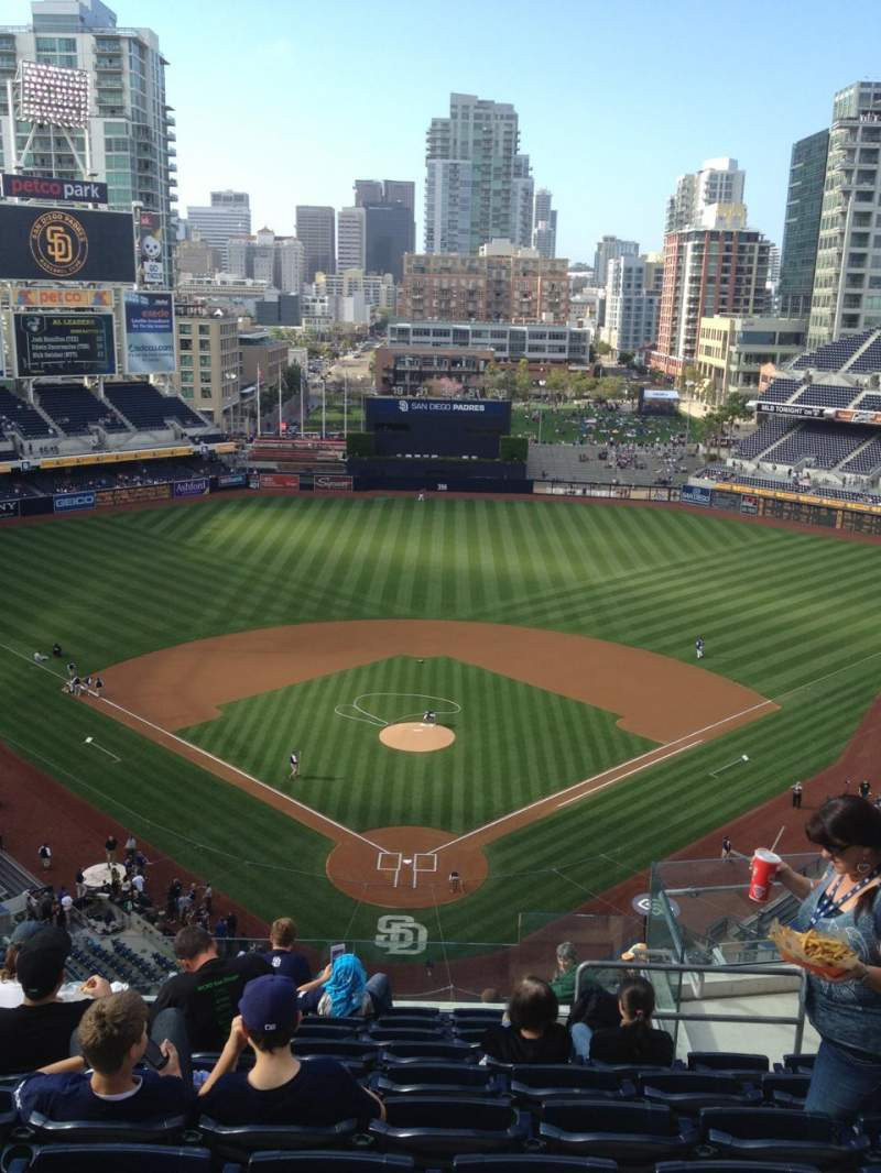 Brewers Wallpaper Iphone Petco Park Section 300 Row 16 Seat 6 San Diego Padres Vs