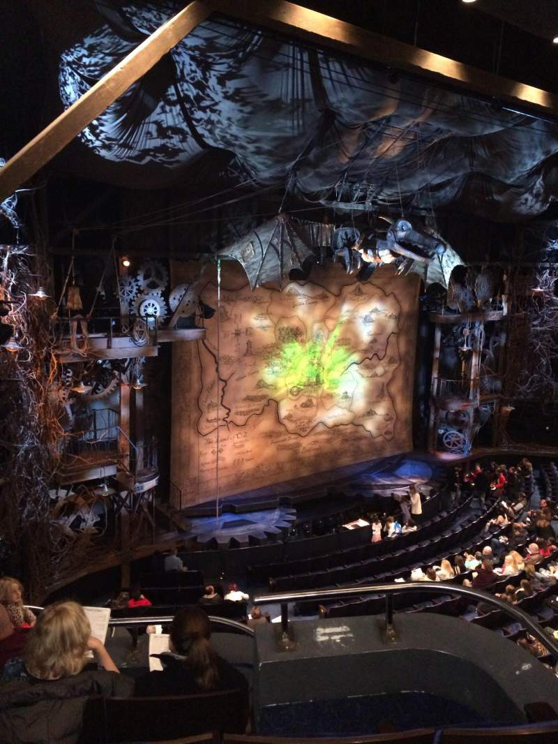 Wicked Iphone Wallpaper Gershwin Theatre Section Front Mezzanine L Row A Seat