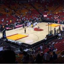 American Airline Arena Section