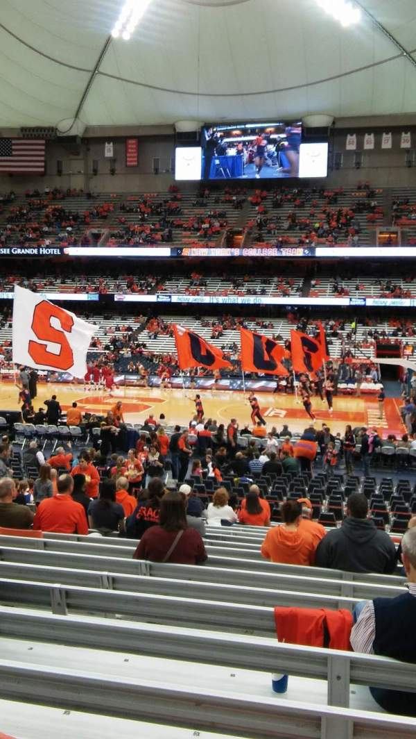 Carrier Dome Football Seating Chart Year Of Clean Water