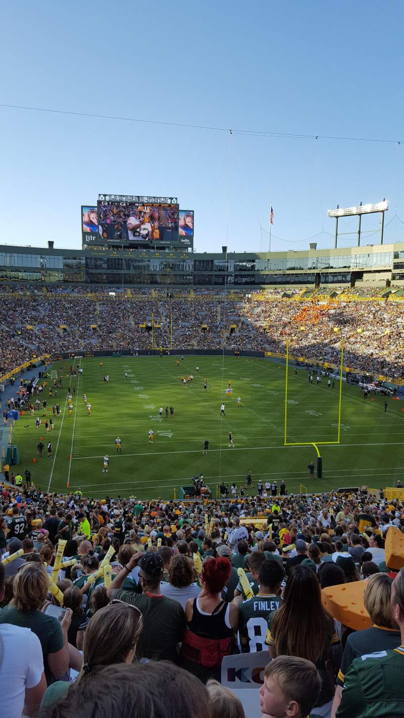 Wallpaper For Iphone X App Lambeau Field Section 136 Home Of Green Bay Packers
