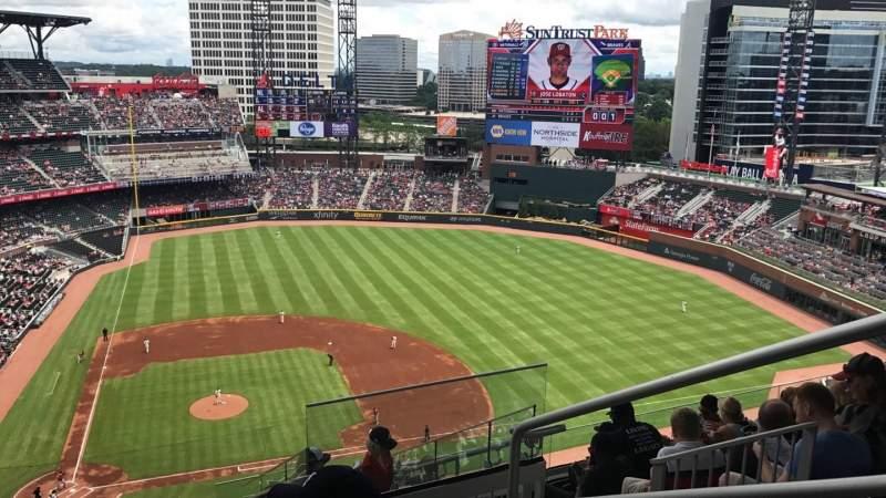 Atlanta Braves Iphone Wallpaper Suntrust Park Section 422 Home Of Atlanta Braves