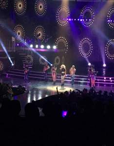 Seating view for zappos theater section row  seat also britney spears tour rh aviewfrommyseat