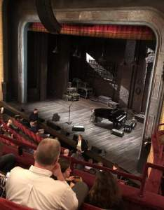 Walter kerr theatre section mezz  row  seat springsteen on broadway shared anonymously also rh aviewfrommyseat