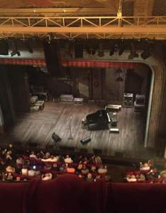 Seating view for walter kerr theatre section balcony rght row  seat also rh aviewfrommyseat