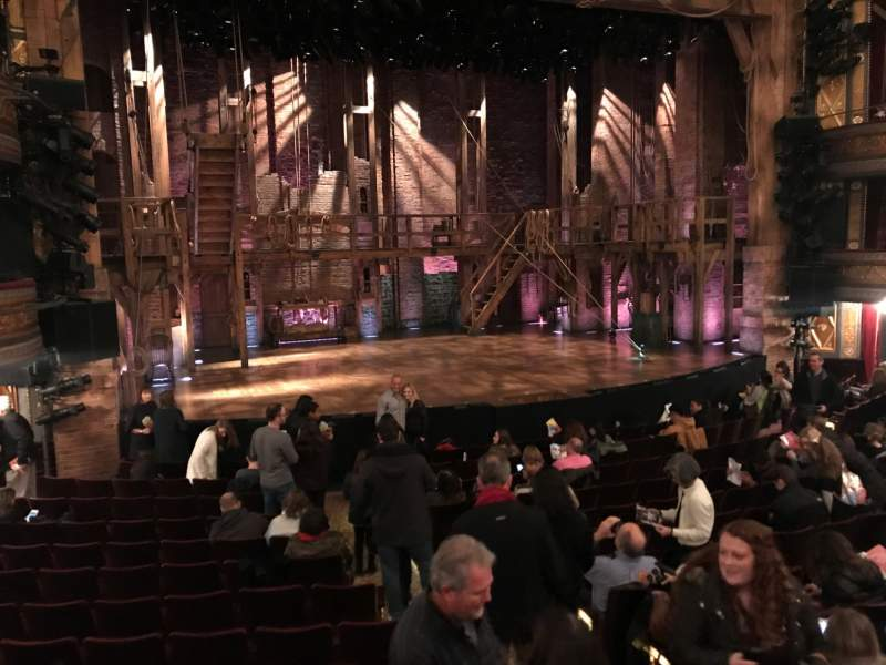 Richard Rodgers Theatre Seating View Wallseatco