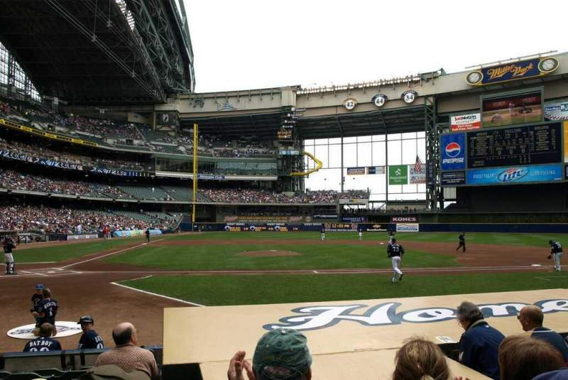 Brewers Wallpaper Iphone Miller Park Section 114 Home Of Milwaukee Brewers