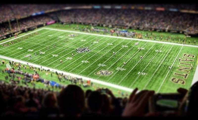 New Orleans Saints Iphone Wallpaper Mercedes Benz Superdome Interactive Football Seating Plan