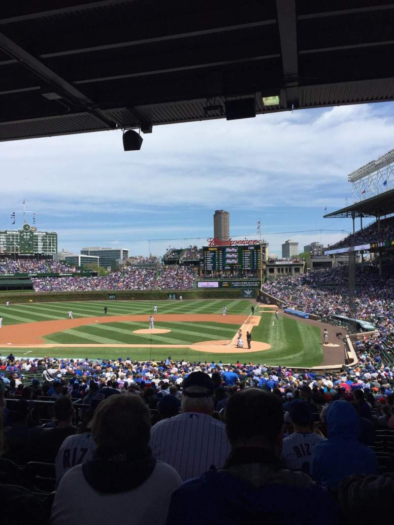 Chicago Cubs Wallpaper Iphone X Wrigley Field Section 218 Home Of Chicago Cubs
