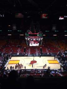 American Airlines Arena Section 309 Row 11 Seat 3 - Miami