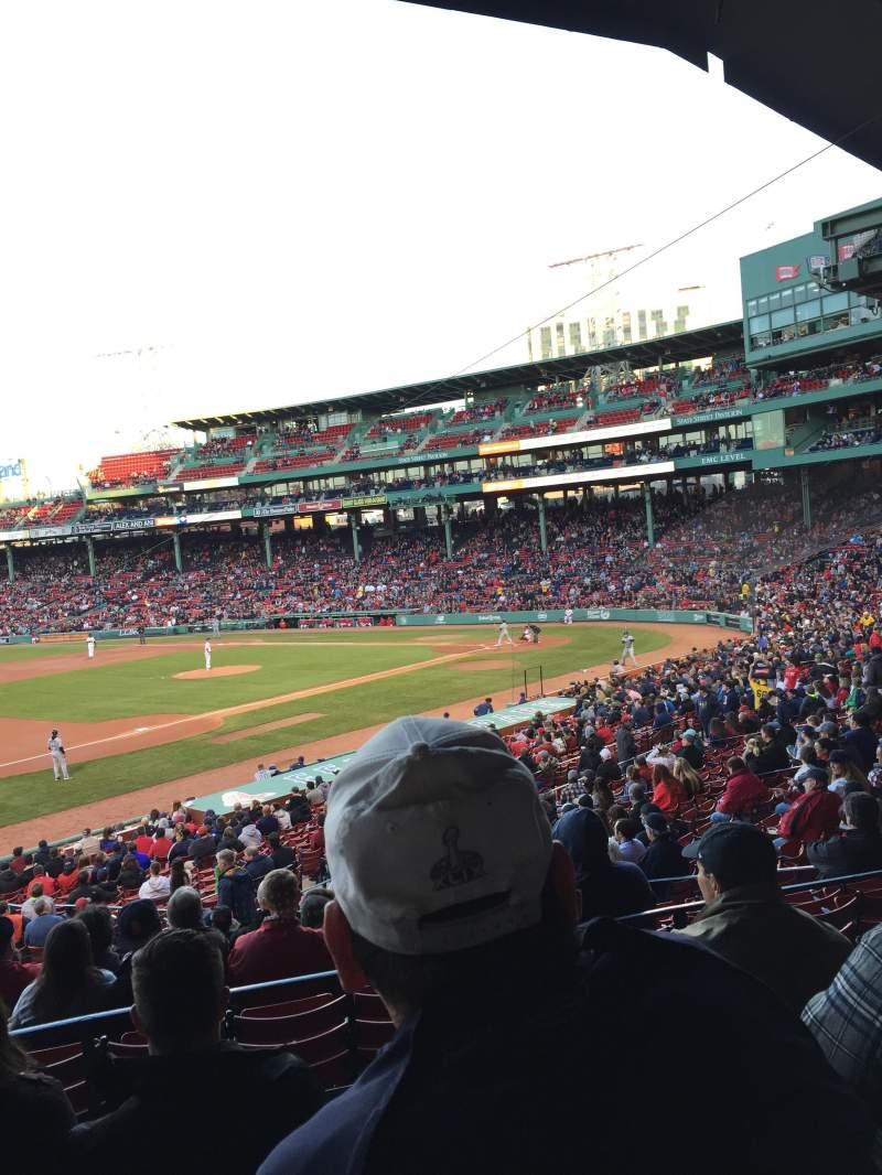 Boston Fenway Park Seating Chart