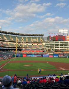 also globe life park in arlington interactive seating chart rh aviewfrommyseat