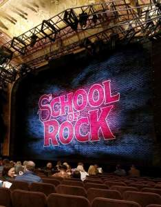 Winter garden theatre section orch row  seat school of rock shared by ilysespieces also rh aviewfrommyseat