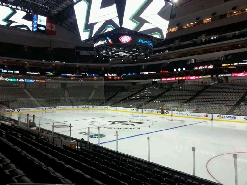 American Airlines Center Section 116 Home Of Dallas