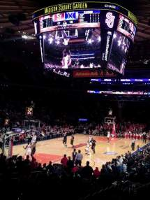 Madison Square Garden Section 104 Home Of York