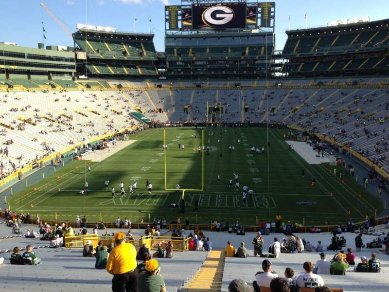 102 Lambeau Section Field