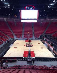 also viejas arena section  home of san diego state aztecs rh aviewfrommyseat