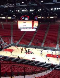 also viejas arena section  home of san diego state aztecs page rh aviewfrommyseat