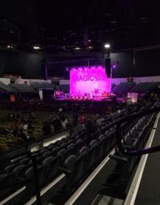 Luca sectionll row seat star concert seat view also valley casino center interactive seating chart rh aviewfrommyseat