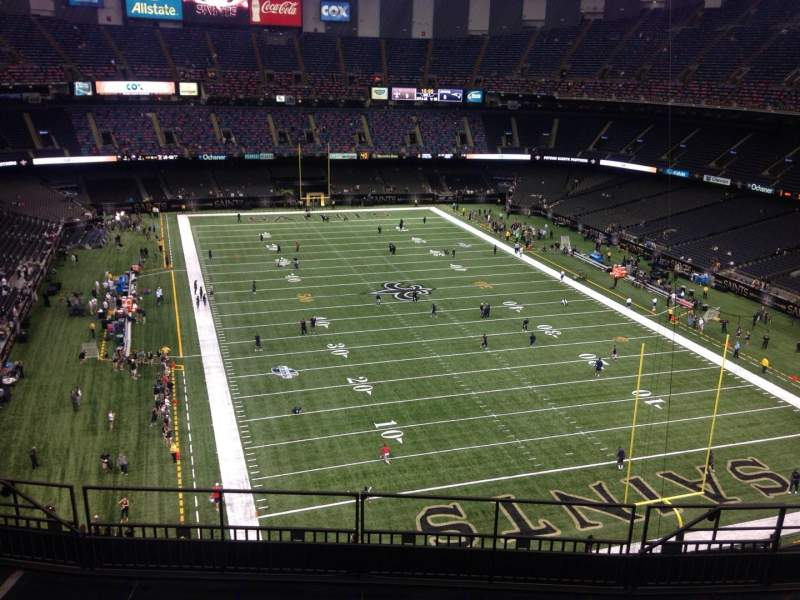 309 Sec New 9 Row Chart Superdome Seating Orleans