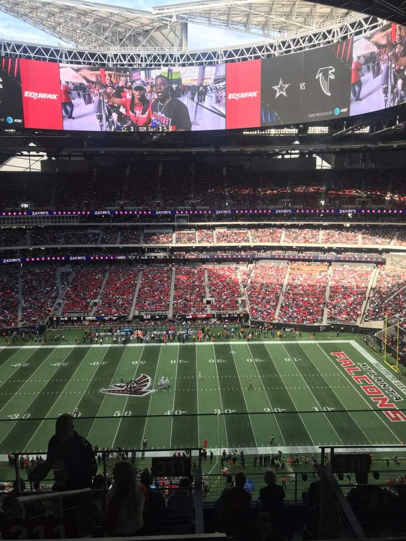 Atlanta Braves Iphone Wallpaper Mercedes Benz Stadium Interactive Football Seating Chart