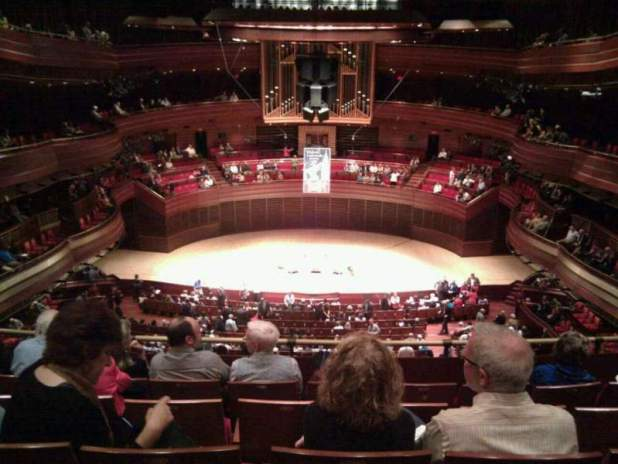 Seating View For Verizon Hall At The Kimmel Center Section Third Tier Row D