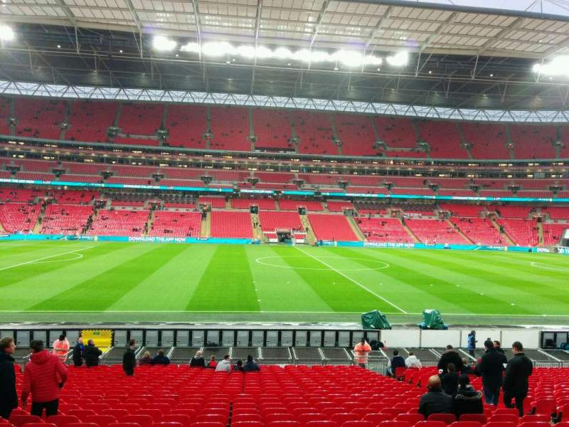 Tottenham Iphone Wallpaper Wembley Stadium Section 123 Row 26 Seat 26 England Vs