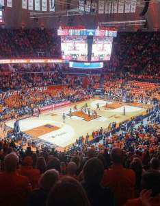 State farm center interactive basketball seating chart also rh aviewfrommyseat