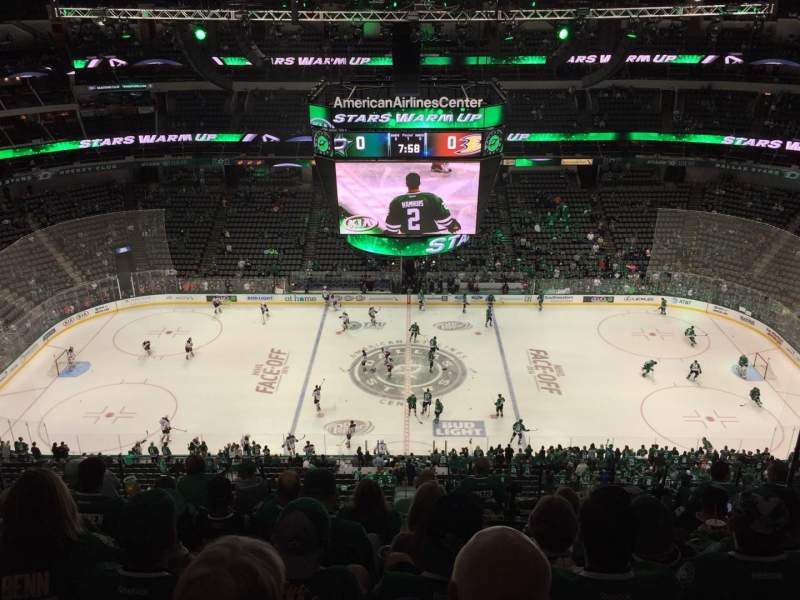 Dallas Stars Wallpaper Iphone American Airlines Center Section 310 Row M Seat 7 Dallas