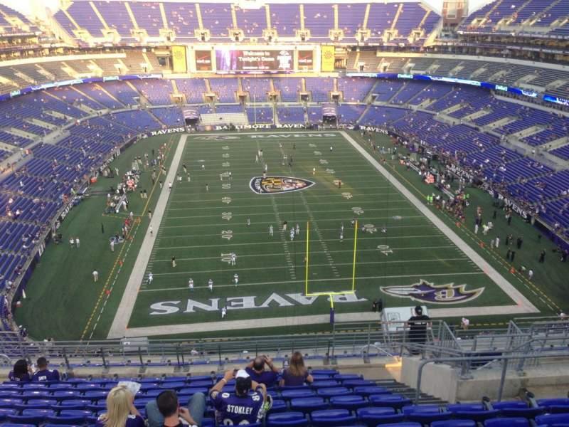 Raven Wallpaper Iphone M Amp T Bank Stadium Section 541 Home Of Baltimore Ravens