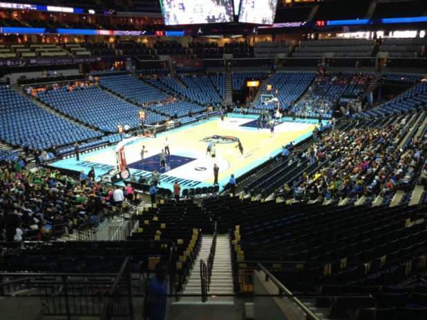Time Warner Cable Arena Seating Chart Row Ee