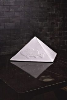 GRIBAUDO Ezio 03 - 30.5x31x18.5 - maiolica - 1978