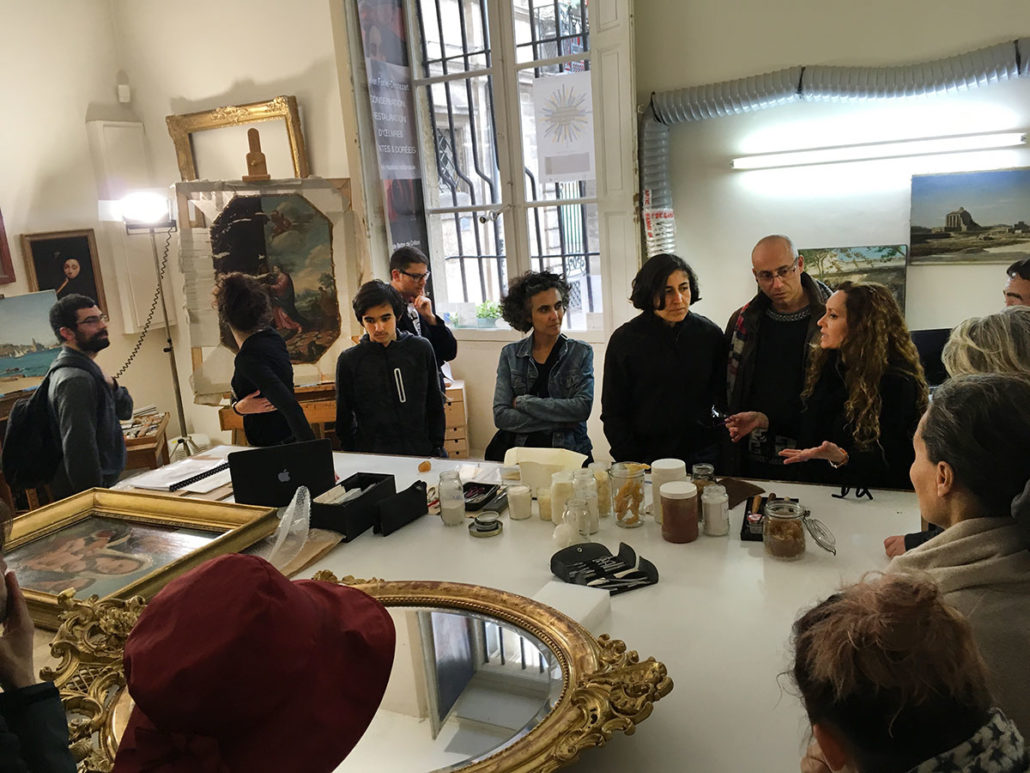 ATELIER ISABELLE FORIELDESTEZET  Avignon Arts Contemporains