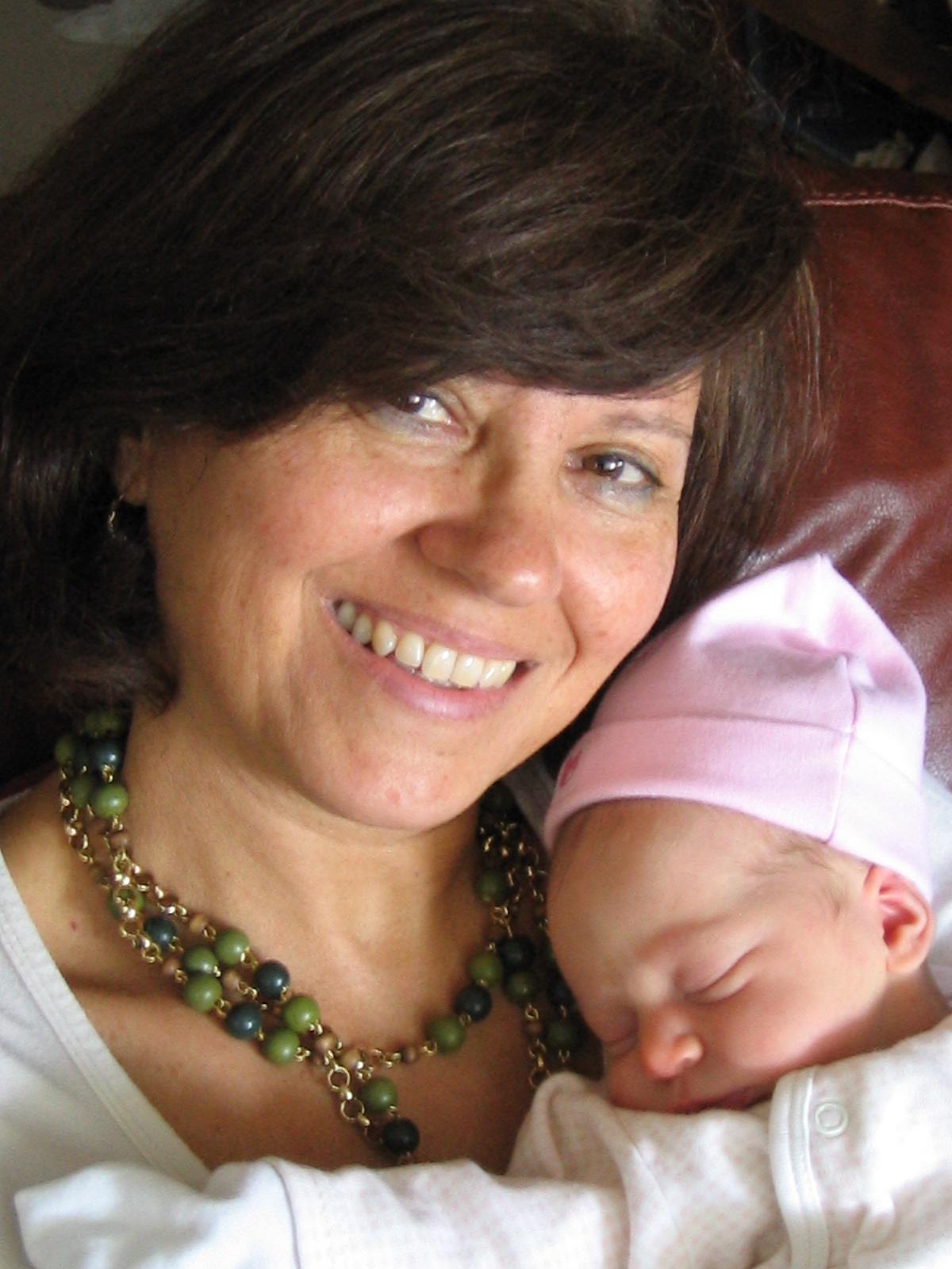 Emunah with Abuela