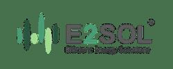 e2 solar logo