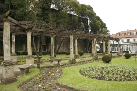 Jardín francés (Palacio de Ferrera)