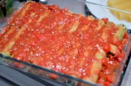 Vegane Cannelloni ohne Tofu