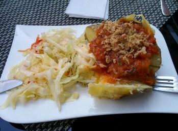 vegan Kartoffelbar, Detmold