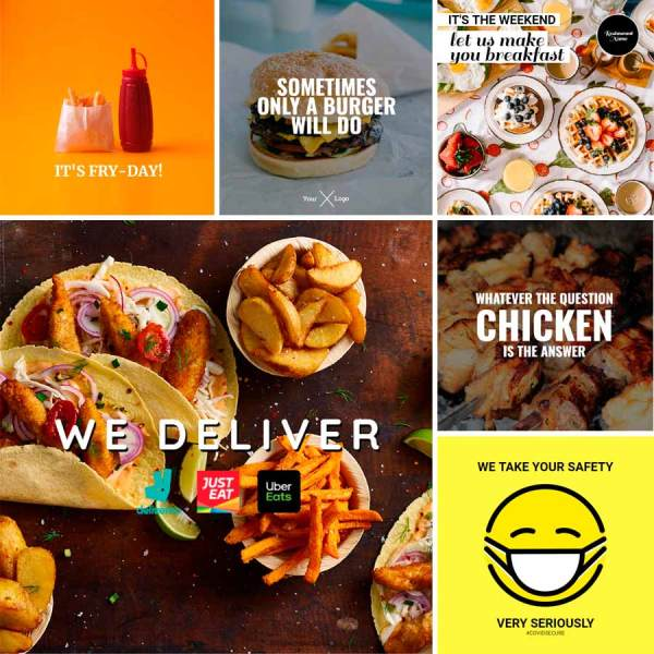Restaurant Marketing Templates - Consumer Announcements