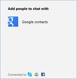 Connect Google with outlook