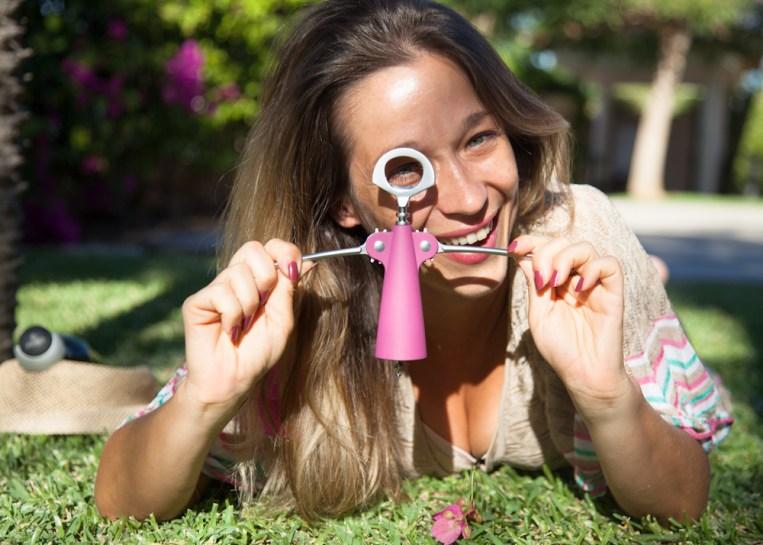 avina wine pink corkscrews