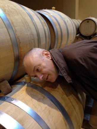 Burgundy barrel Louis Jadot