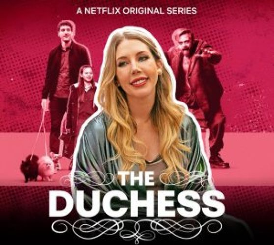 publicity poster promoting Katherine Ryan in The Duchess