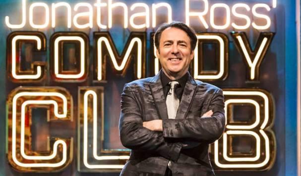 Jonathan Ross host of Comedy Clkub