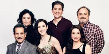 Cast of The Marvelous Mrs Maisel